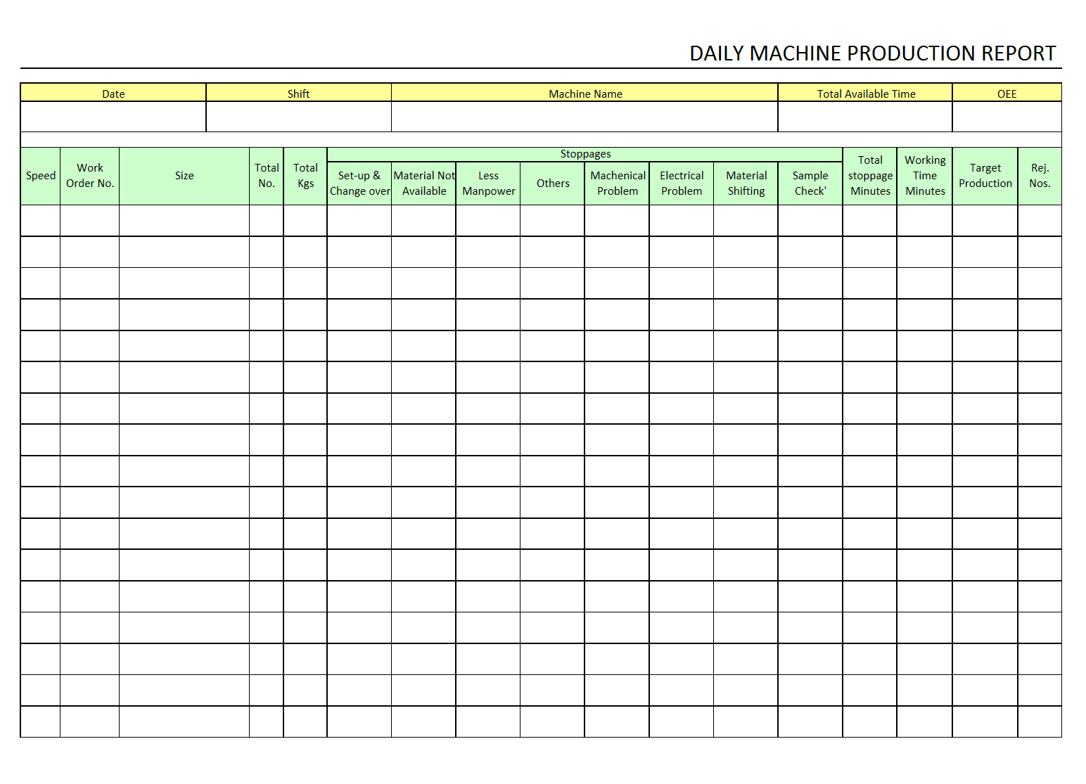 Doc800600 Daily Sales Report Sample Daily sales report Office – Sales Report Template Free