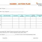 Kaizen Action plan format, Kaizen Action plan template, Kaizen Action plan examples, Kaizen Action plan sample, Kaizen Action plan pdf