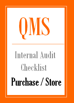 Internal Audit Checklist for Purchase
