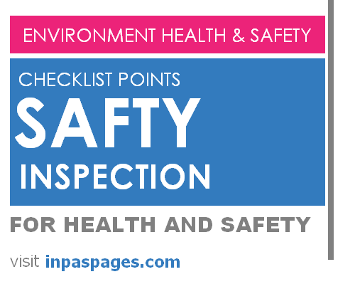 Environment Health and Safety general Checklist points