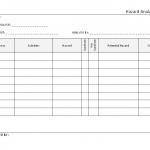 Hazard Analysis form template