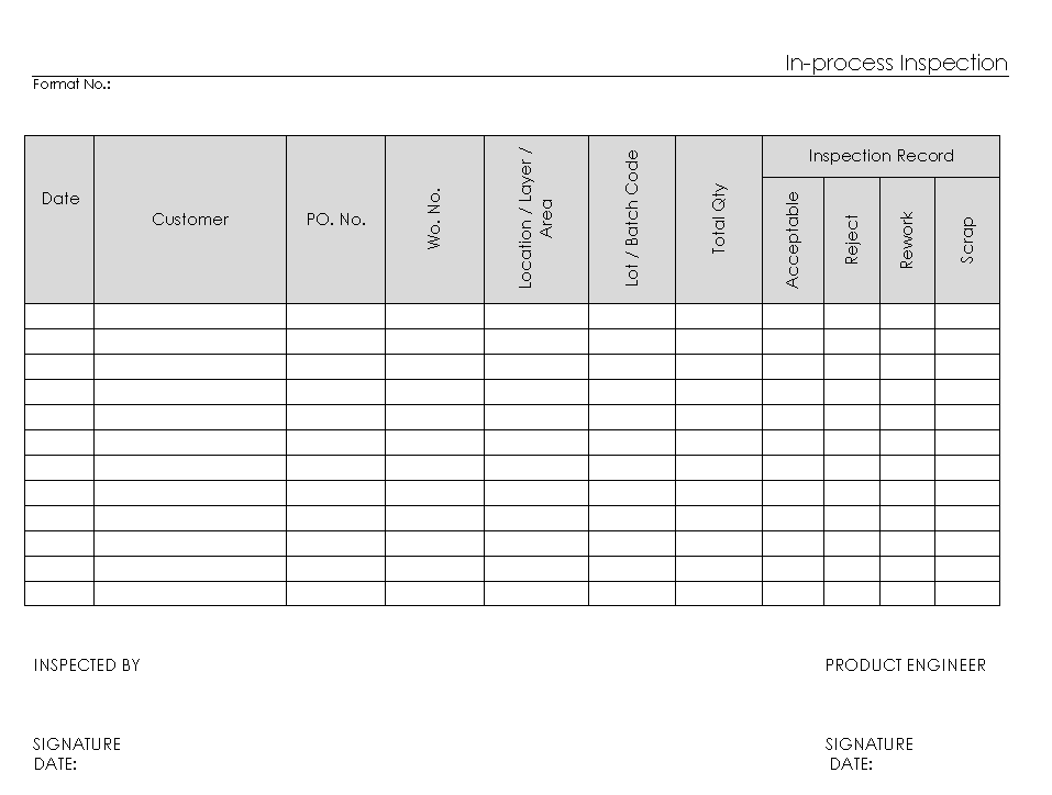 Blank Checklist Template  36 Free PSD Vector EPS AI