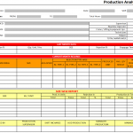 Production Analysis Report