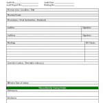 quality non conformance report template