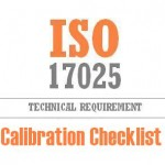 Calibration Checklist