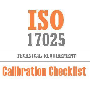 Calibration Checklist