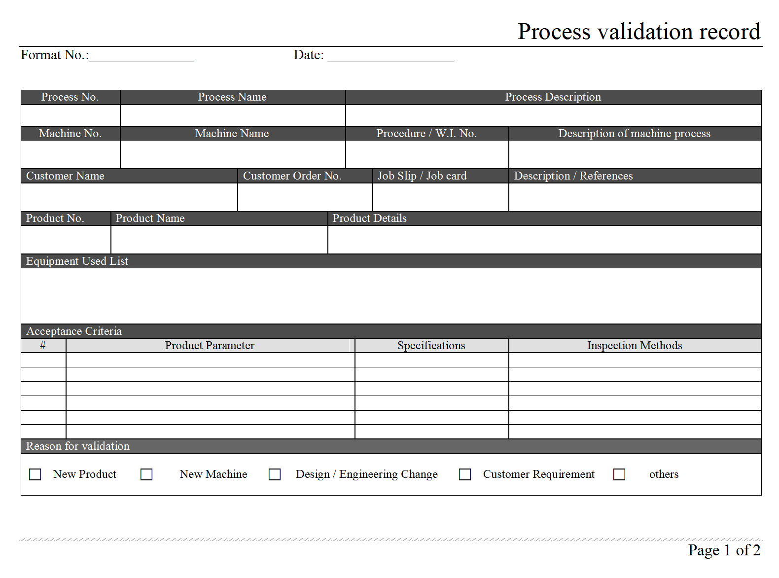 process validation manufacturing process validation process re