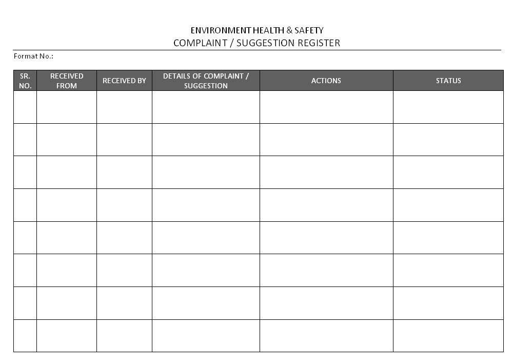 Car service schedule sheet samples 11