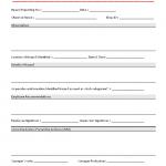 Hazard Report Form