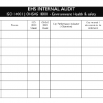 EHS Internal Audit