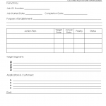 CRM Action plan template