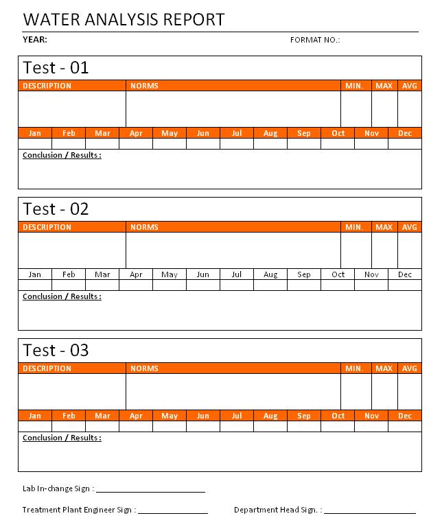 Doc585686 Analysis Report Template Data Analysis Report – Analysis Report Template