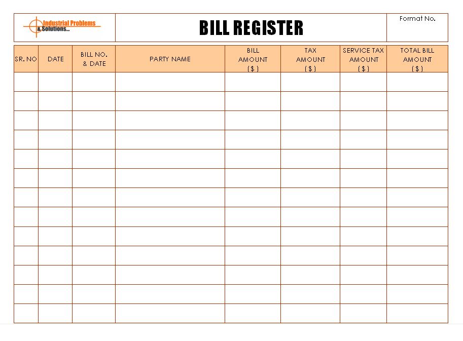 incoming materials bills documentation