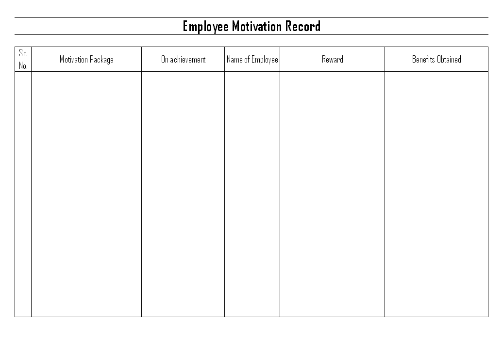 report on employees motivation applied in Management and motivation nancy h shanks learning objectives managers and employees in the process of motivation is everybody motivated as managers.