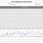5S audit score trend sheet