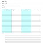 Input – output plan