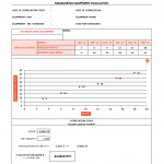 Correlation study report template